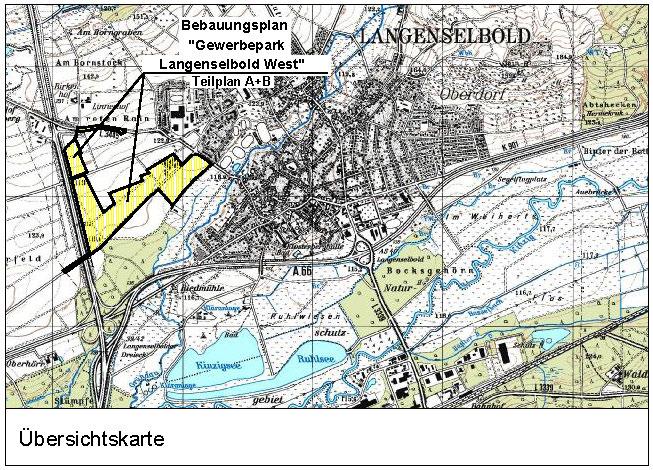 """Bebauungsplan """"Gewerbepark Langenselbold West"""""""