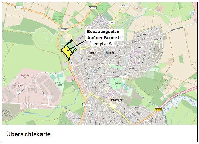 """Bebauungsplan """"Auf der Beune II Erlensee"""""""